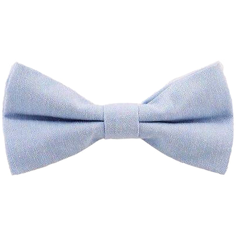 Leo Blue Cotton Bow Tie