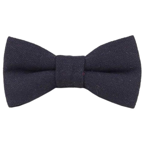 Marshall Tweed Black Bow Tie