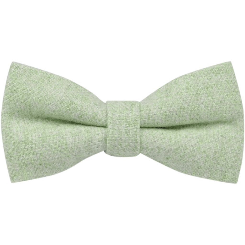 Morris Green Tweed Bow Tie