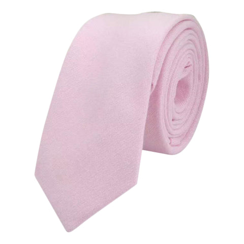 Faye Cotton Candy Pink Slim Tie