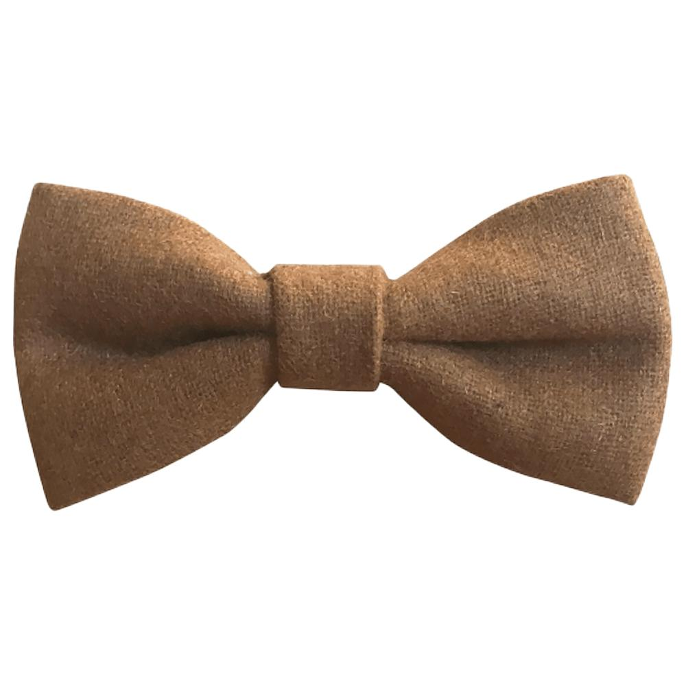 Rufus Boys Brown Bow Tie