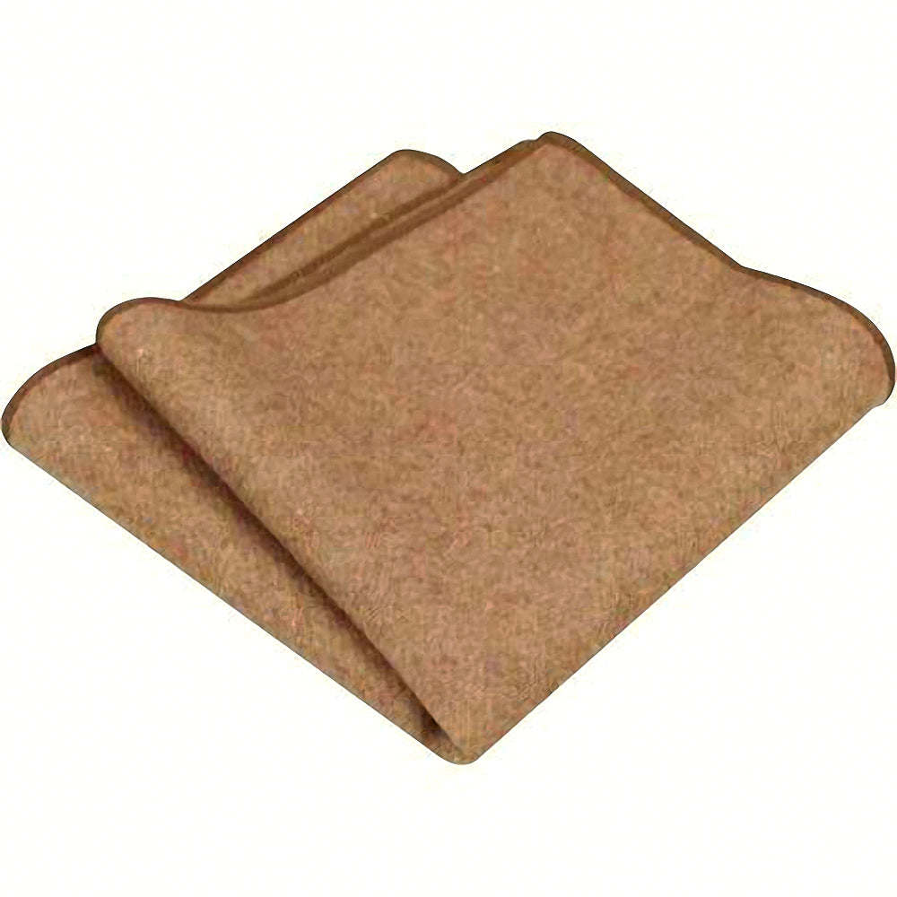 Rufus: The Vintage Wool Camel Tan Pocket Square. A pocket square is the perfect accessory to bring your bow tie or neck tie together. A simple pocket square can sharpen up any mans style. Click to find yours.