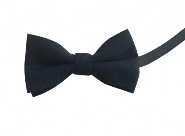 Oliver Boys Navy Blue Bow Tie and Grey Braces | Dickie Bow