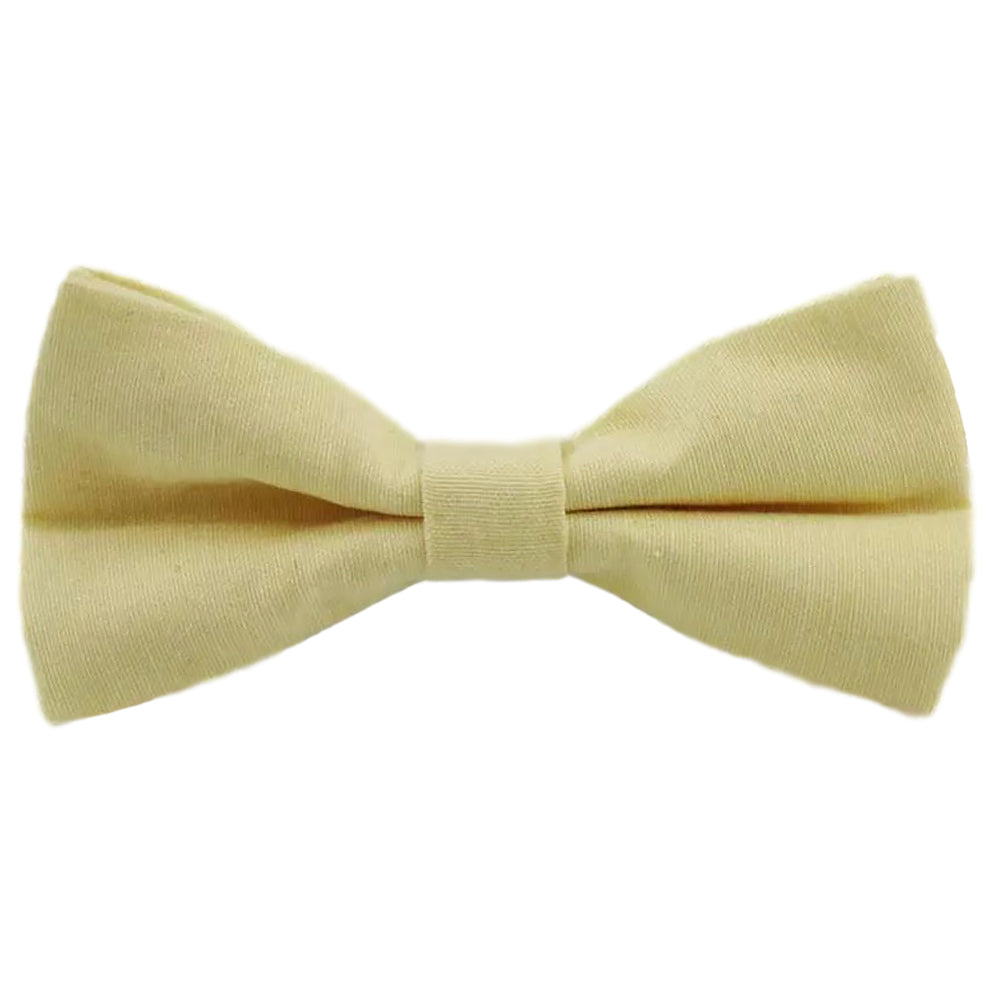 Soleil Sunny Yellow Bow Tie