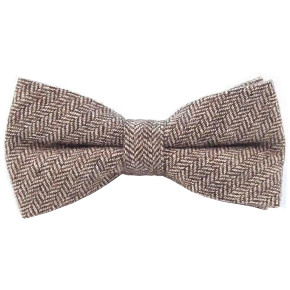 Stanley Brown Tweed Bow Tie | Dickie Bow