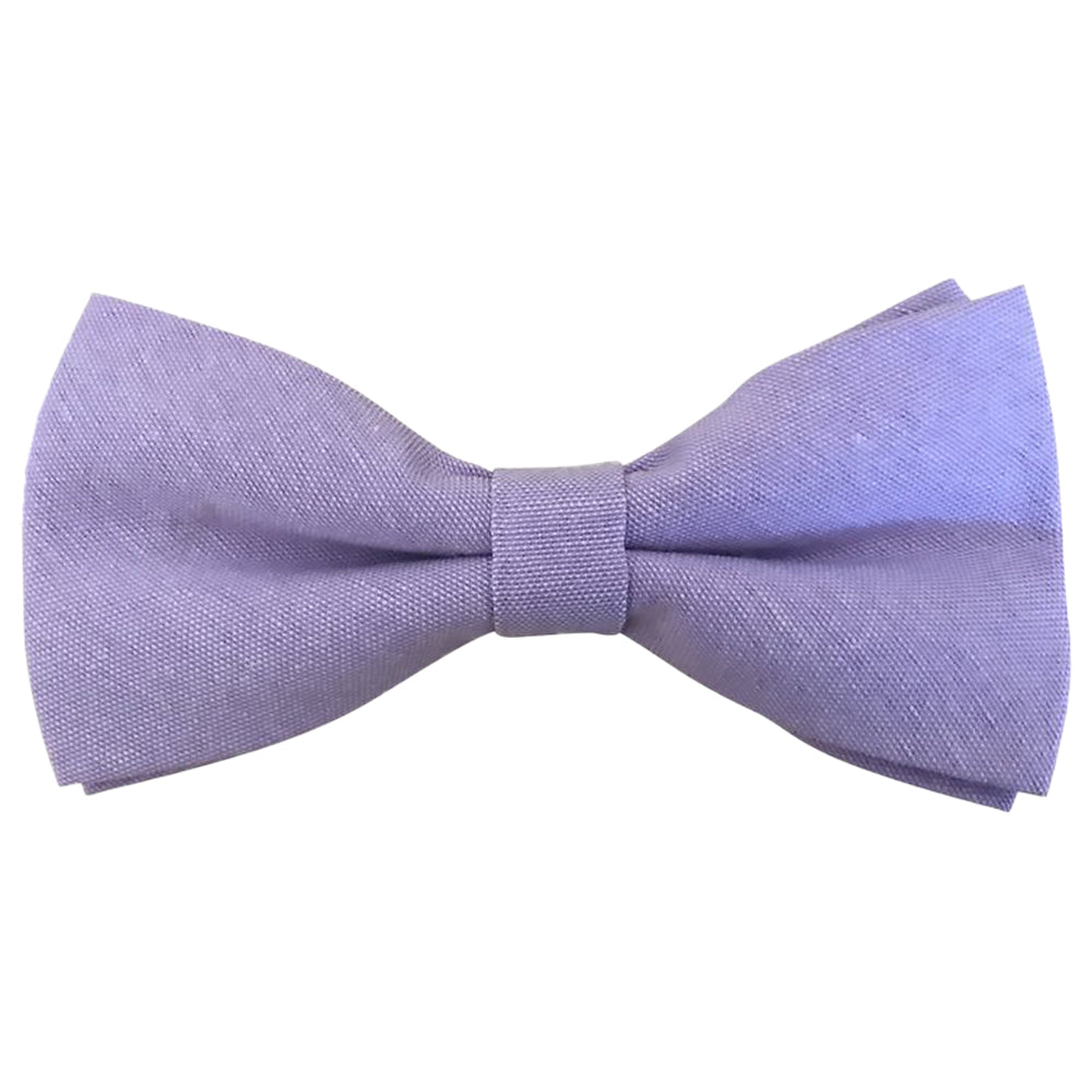 Violet Soft Purple Bow Tie