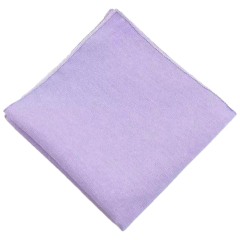 Violet Purple Cotton Pocket Square