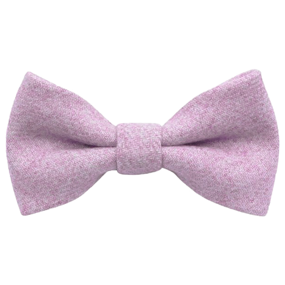 Wilbur Boys Purple Wool Bow Tie | Dickie Bow
