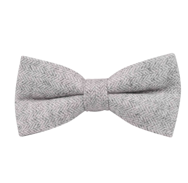 Laurie Grey Tweed Bow Tie
