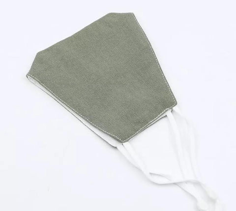 Sage Green Cotton Face Mask
