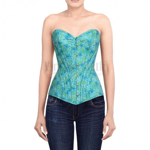 Bryant Printed Cotton Corset