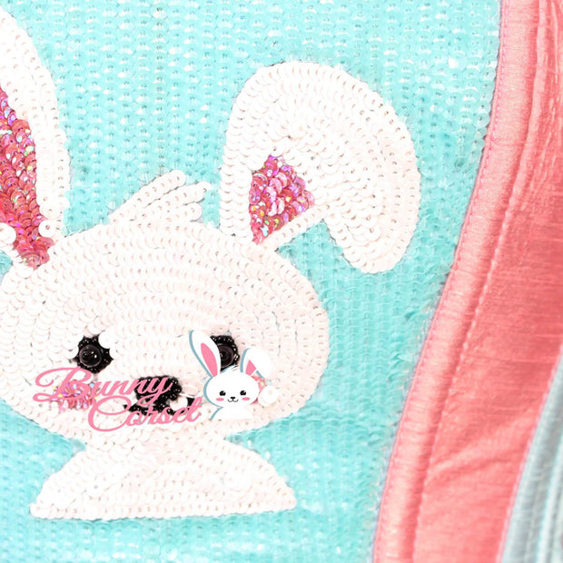 Starlit Overbust Embroidered Bunny Corset