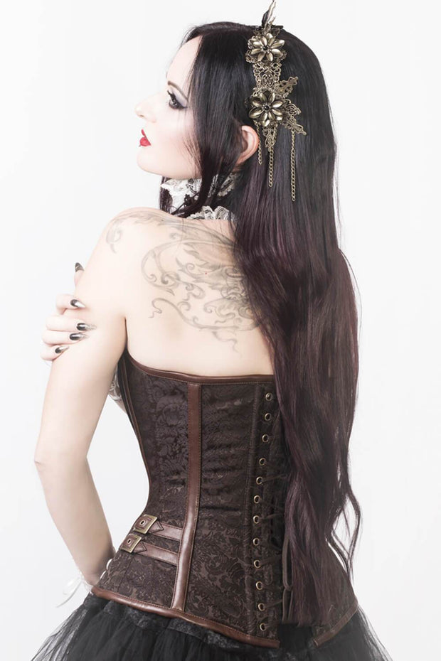 Catrina Custom Made Overbust Steampunk Corset