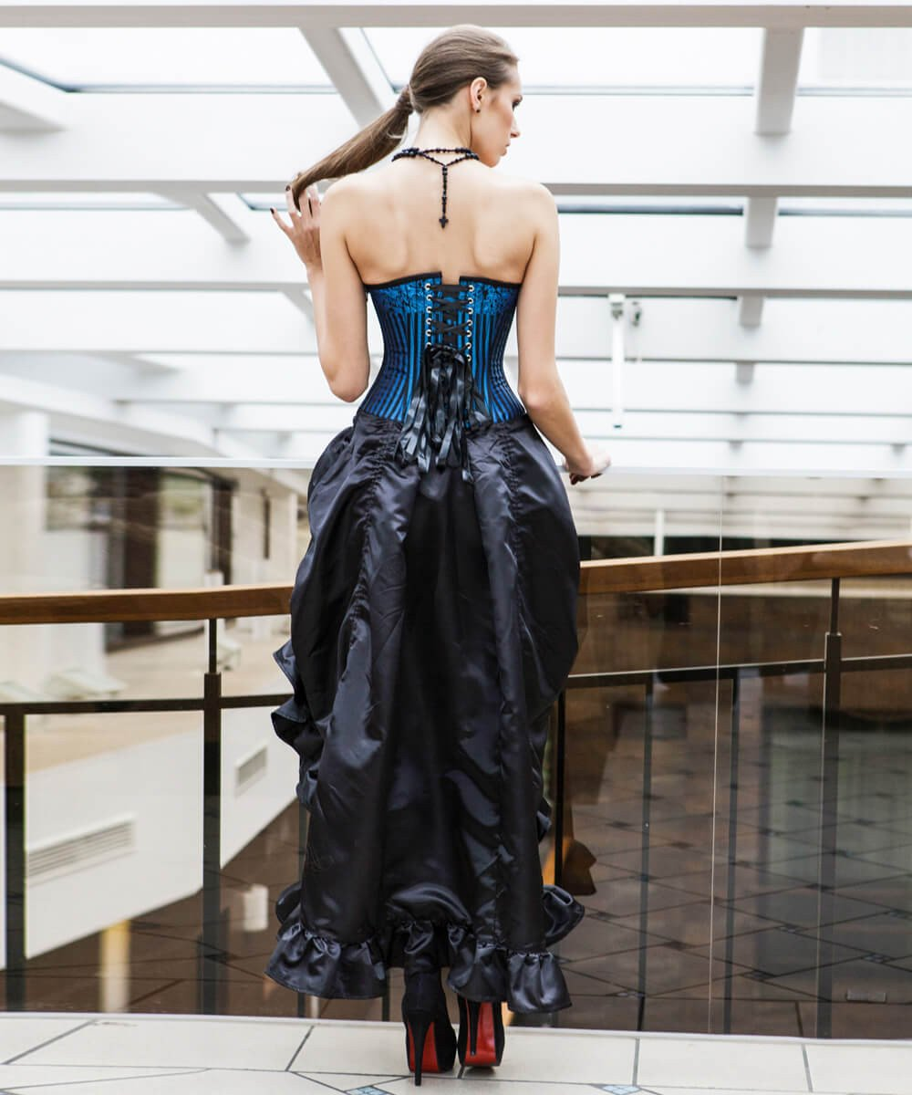 Lucrece Brocade Custom Made Corset Dress