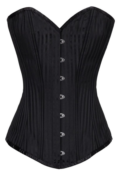 Amanda Waist Training Plus Size Steel Boned Corset