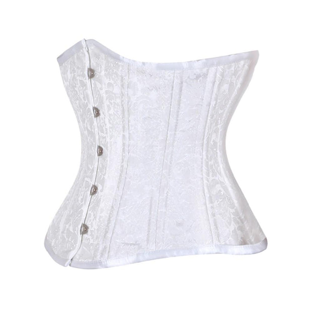SOLD OUT - White Waist Training Corset