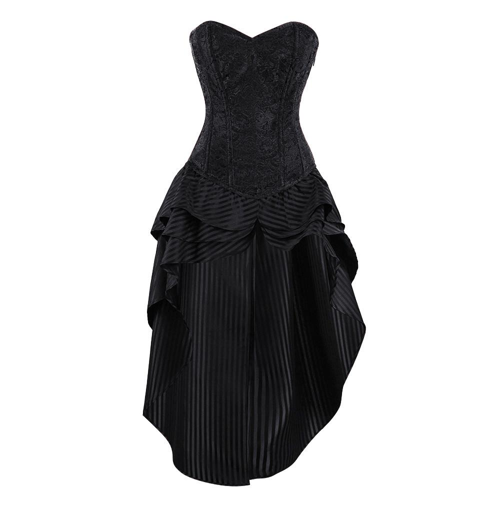 Kira Overbust Corset Dress