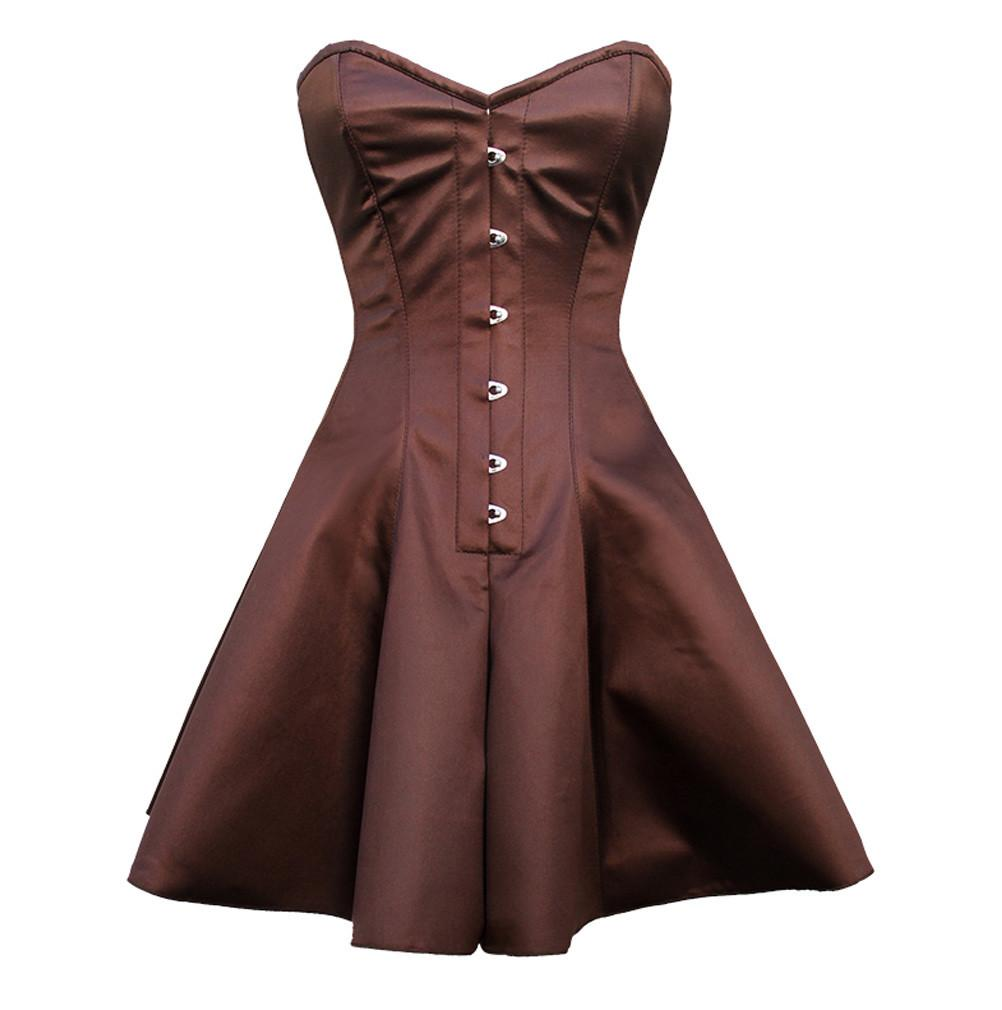 Maddison Overbust Corset Dress