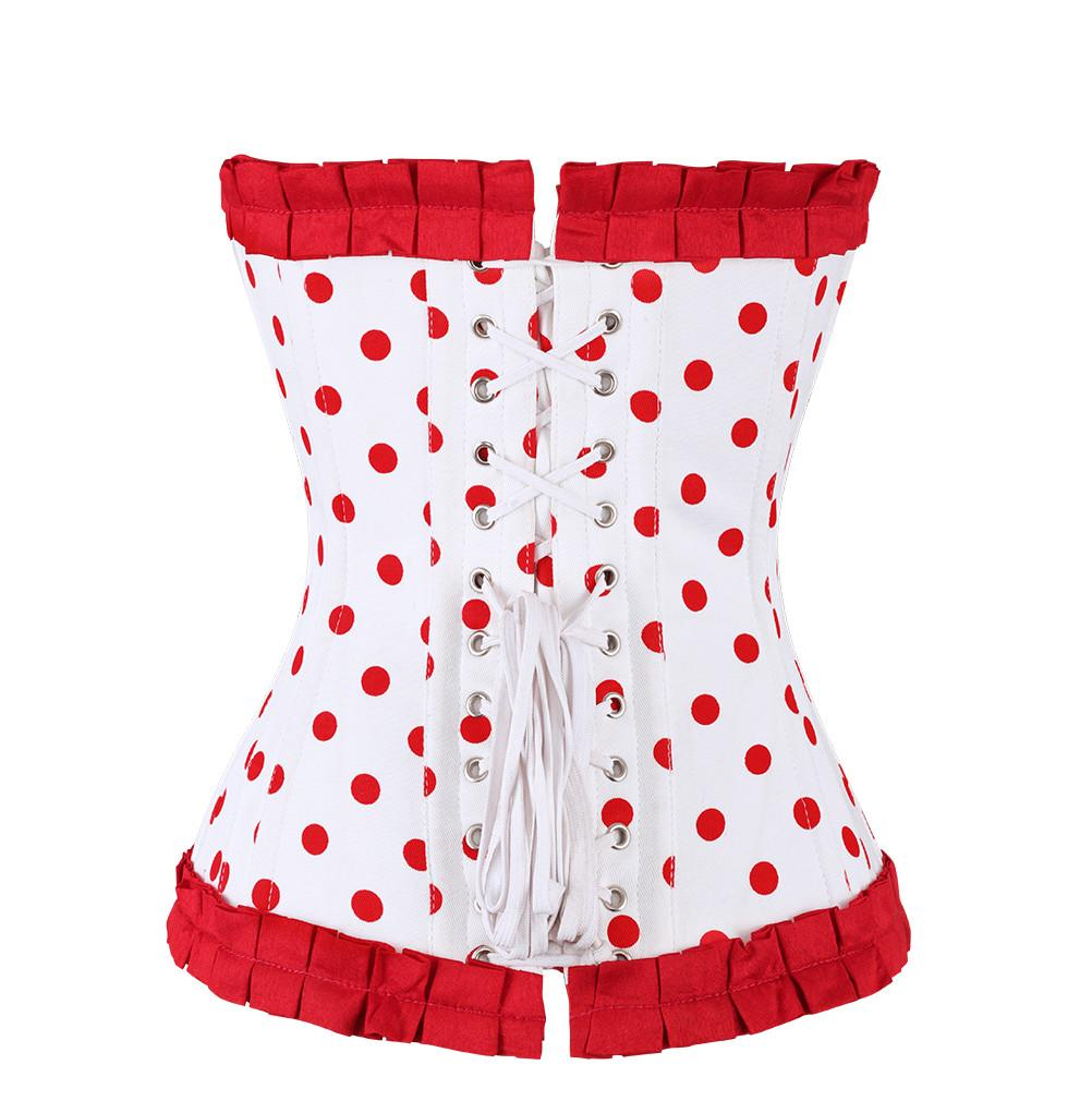 Emely Cotton Overbust Corset
