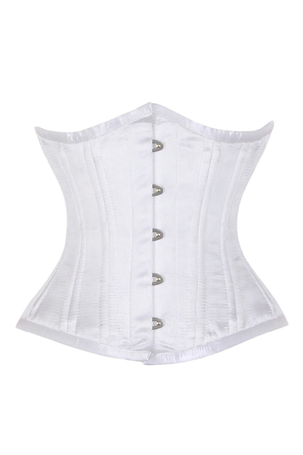 Garnell White Waist Training Corset