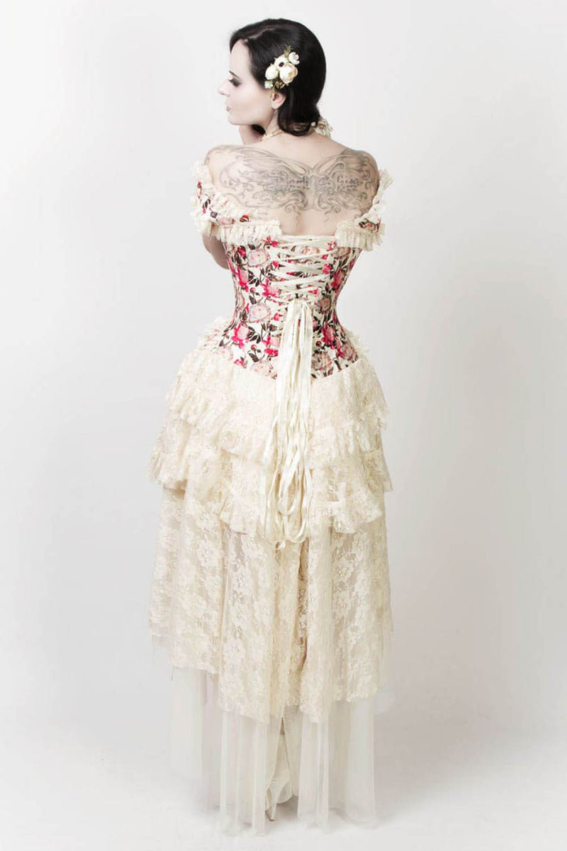 Edina Victorian Inspired Corset Dress