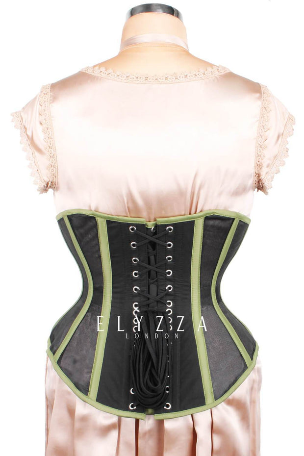 Waist Reducing Mesh with Cotton Corset (ELC-601)