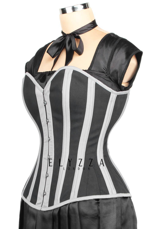 Overbust Waist Training Cotton Corset (ELC-301)