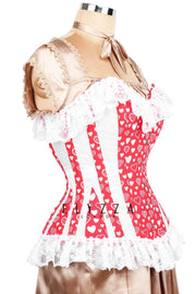 Red Sweet Heart Valentine Corset (ELC-301)