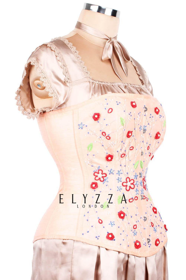 Hand Embroidered Couture Corset (ELC-401)