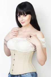 Cotton Custom Made Steel Boned Waist Training Corset