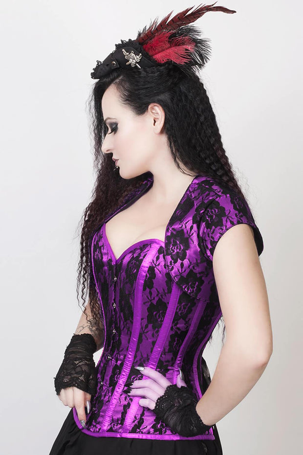 Ferdinand Custom Made Overbust Corset with Bolero Jacket