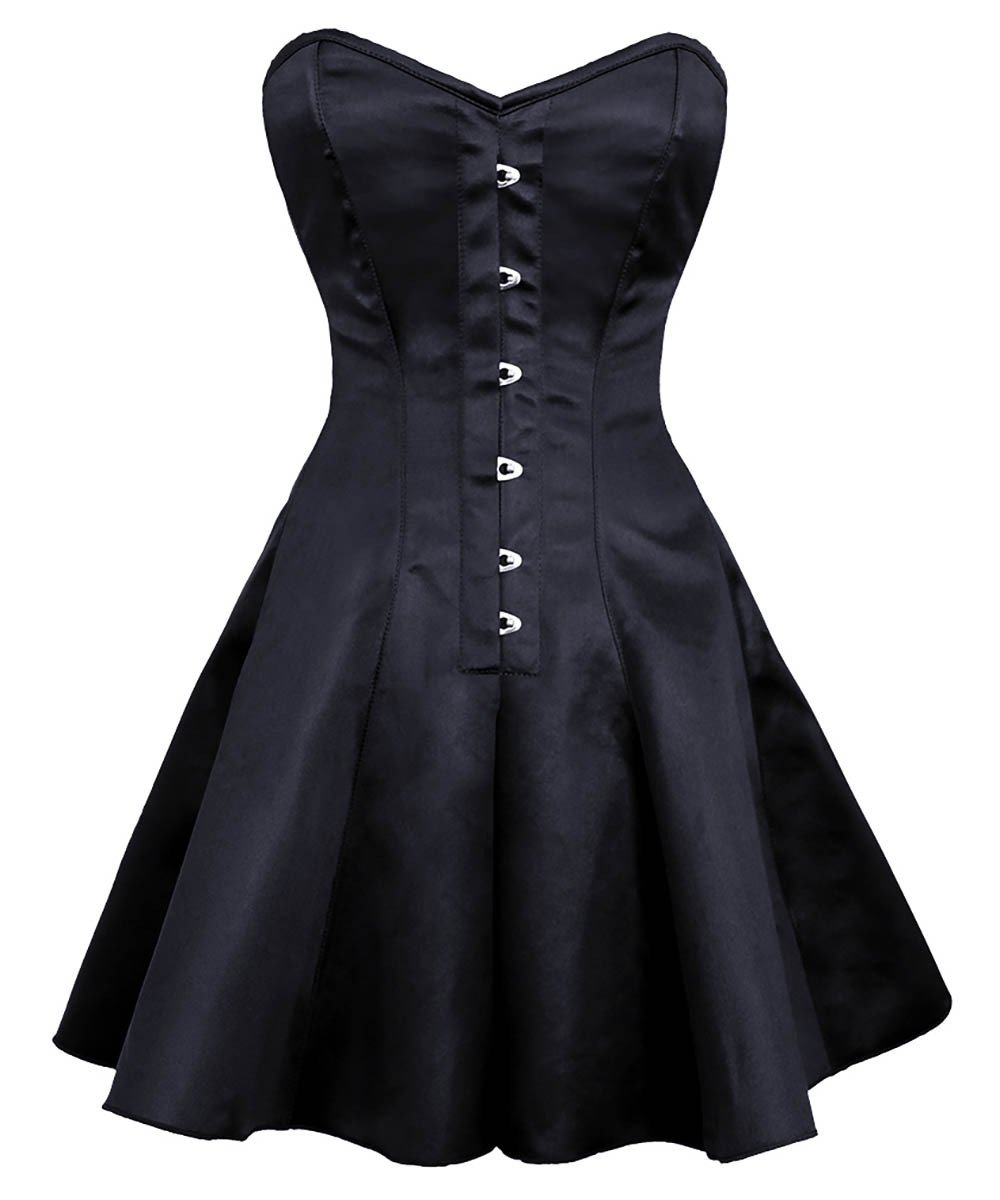 Ayana Gothic Plus Size Corset Dress