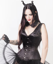 Vested Steel Boned Gothic Corset