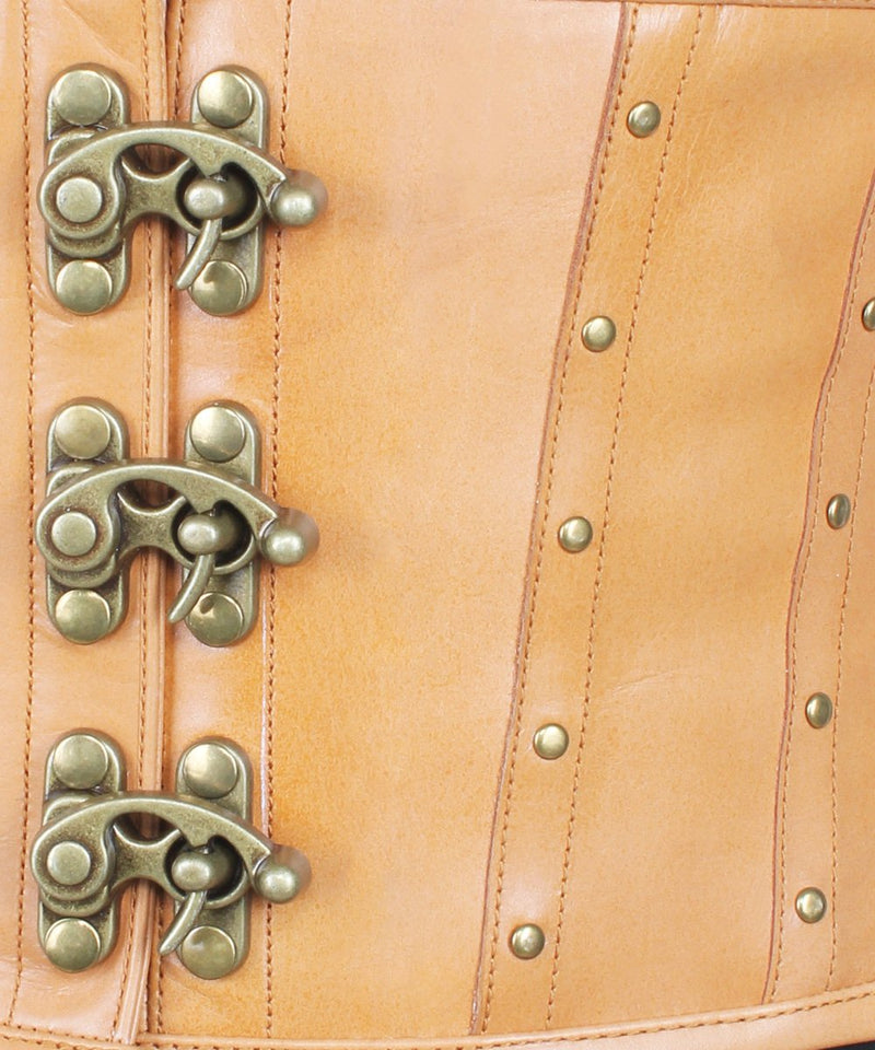 Soleil Leather Steampunk Underbust Corset