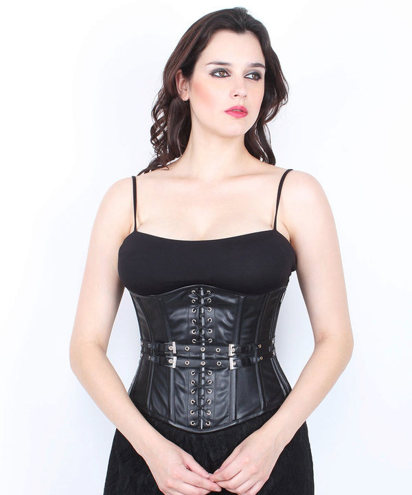 Adalyne Cotton Lined Gothic Underbust Corset