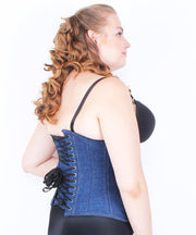Korra Denim Curvy Waist Training Corset