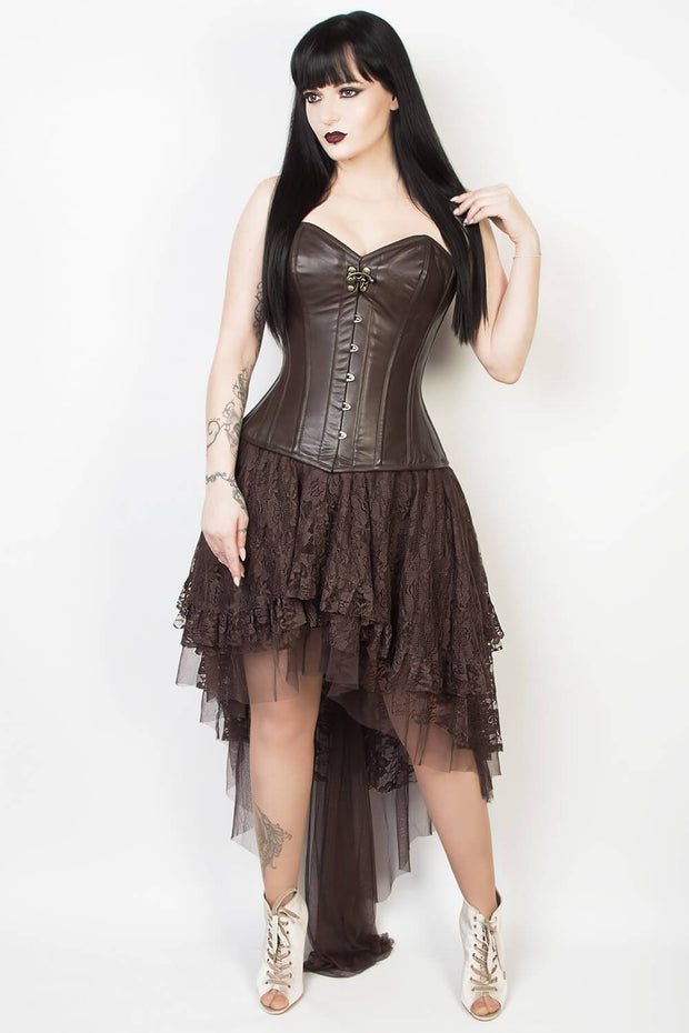 Joan Brown Lace Gothic Skirt