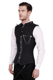 Asphodel Gothic Men's Overchest Corset