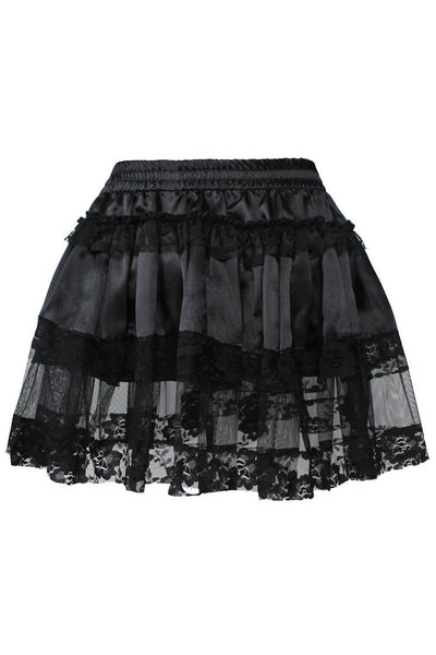 Destiny Custom Made Gothic Black Tutu Skirt