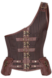 Dettmar Custom Made Steampunk Men's Midchest Corset
