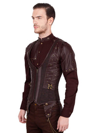 Edlef Underchest Steampunk Men's Corset
