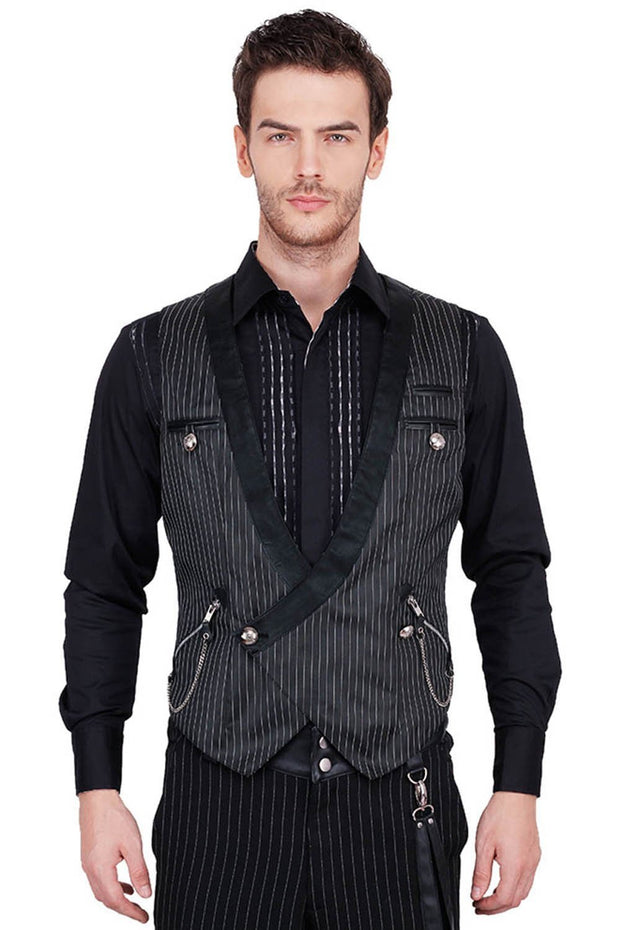Conrad Custom Made Gothic Double Breasted Men's Waist Coat