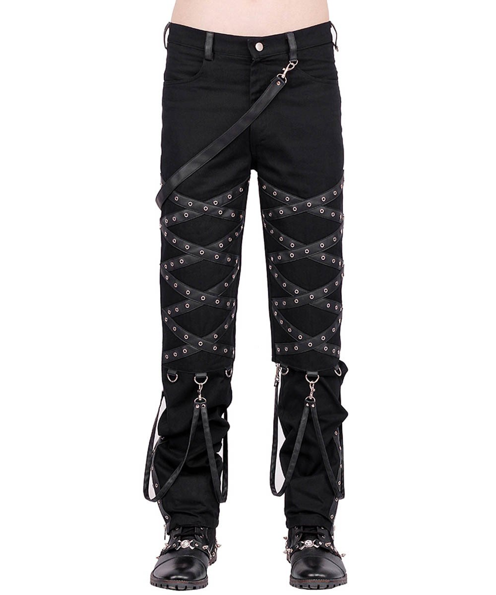 Alexis Gothic Criss Cross Men's Trouser