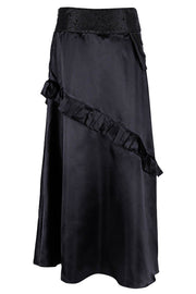 Rowland Custom Made Black Steampunk Layered Skirt