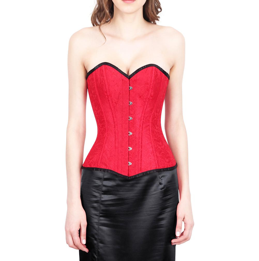 Ogden Red Fashion Corset