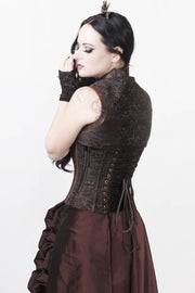 Floriano Overbust Steampunk Corset Dress