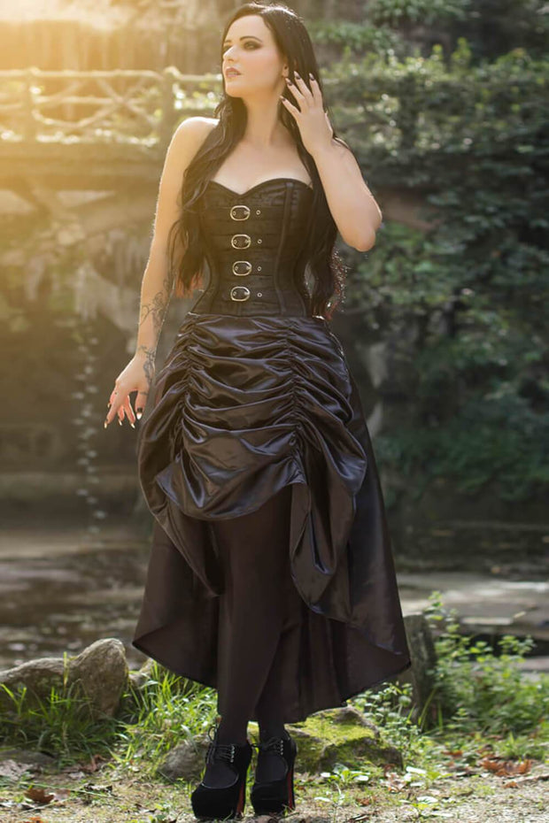 Hamar Custom Made Overbust Steampunk Corset Dress