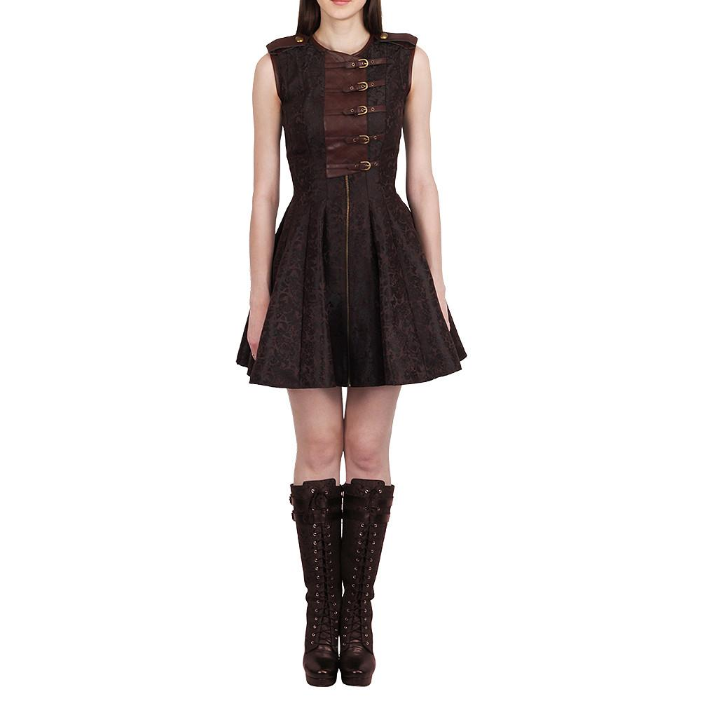 Venamin Steampunk Dress