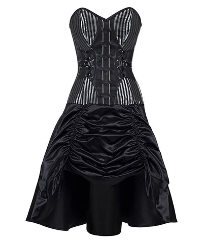 Davies Gothic Steel Boned Corset Dress