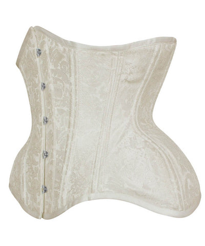 Mana New Curvy Waist Training Custom Made Corset in Brocade